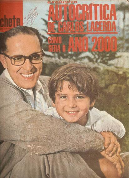 Manchete Nº 757 -1966 Animais No Zoo - Carlos Lacerda