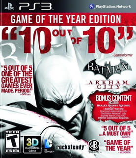 Batman Arkham City Goty Ps3 Digital Gcp