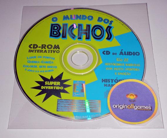 O Mundo Dos Bichos ¦ Jogo Pc Original Usado ¦ Mídia Física