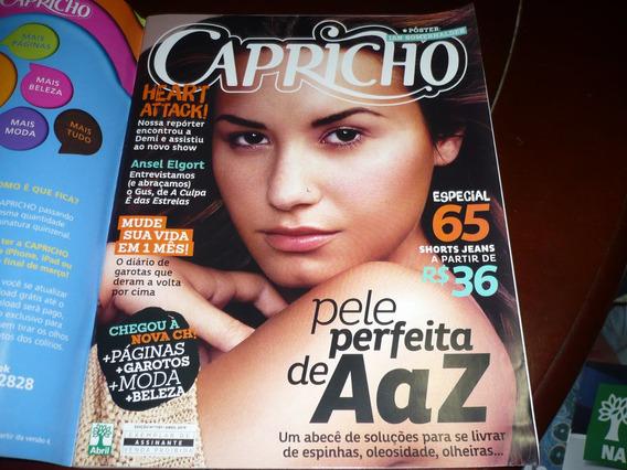 Revista Capricho Com Demi Lovato Capa E Reportagem Abril/14