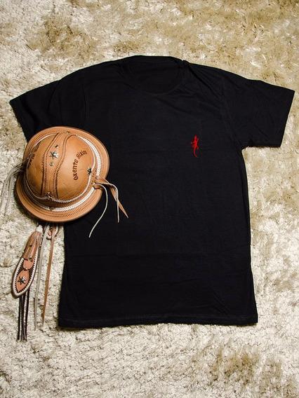 Camisas Feminina Preta Briba - 100% Algodão