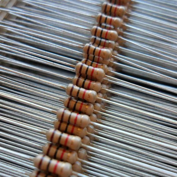 5000 Resistores 5% 1/4 W Cr25 Diversos Valores