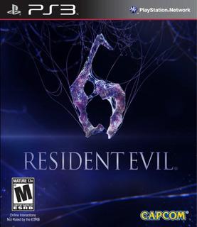 Resident Evil 6 Ps3 Digital Gcp