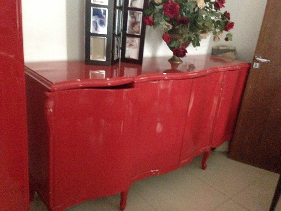 Buffet Modelo Antigo Cor Vermelha