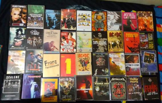Mais De 100 Dvds Rock Pop Nacional Internacional