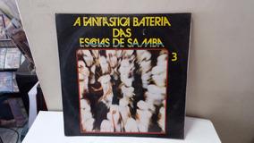 Lp A Fantastica Bateria Das Escola De Samba Vol.03 Ja