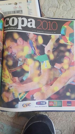 Copa 2010 - Suplemento Especial Da Folha De São Paulo.