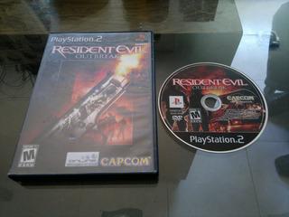 Resident Evil Outbreak Completo Par Play Station 2,excelente