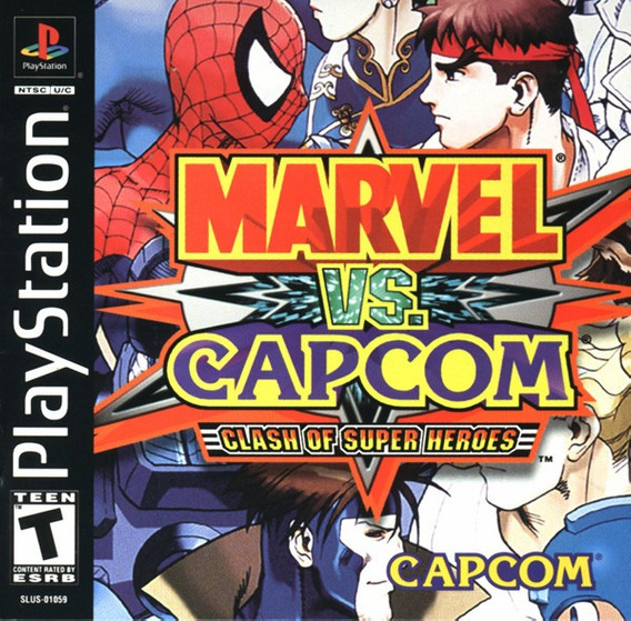 Marvel Vs Capcom - Playstation 1 - Psx -