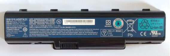 Bateria Notebook Acer Aspire 4540/4535 As07a31