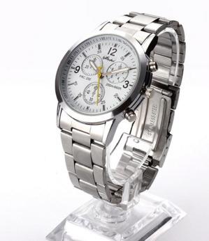 Promoção:relógio Masculino De Aço,clássico