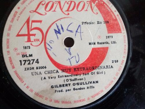 Vinilo Single De Gilbert Osullivan - Clair ( J31  P164