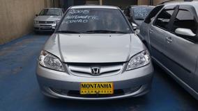Honda Civic Automatico Ano 2005 Montanha Automoveis