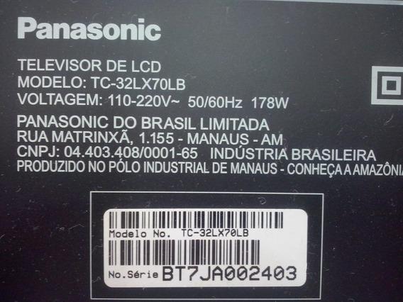 Placa Fonte Tv Panasonic Tc-32lx70lb