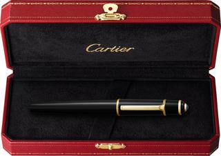 Cartier Gema Azul Esferográfico Diabolo 100% Original