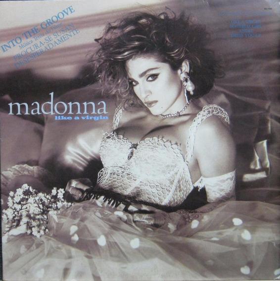 Madonna - Lp Like A Virgin - Wb 1985