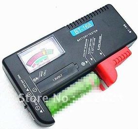 Testador Medidor De Pilhas Aa Aaa Bateria 9v ** Frete Barato