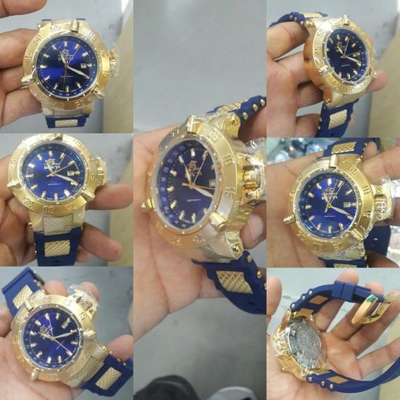 Invicta Subaqua Gold Blue