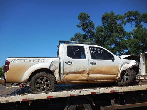 Sucata Nissan Frontier 2.8 Attack Para  Venda De Peças