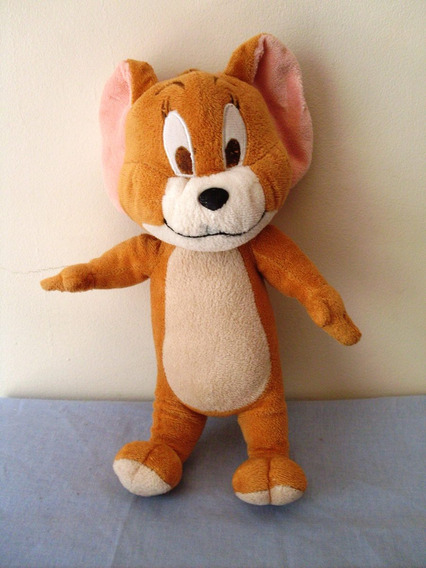 Pelúcia Jerry ( Tom E ) 28 Cm Usado Ler Anuncio H8 @