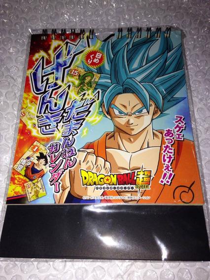 Calendário De Mesa Dragon Ball Super 31 Dias- Original Japão