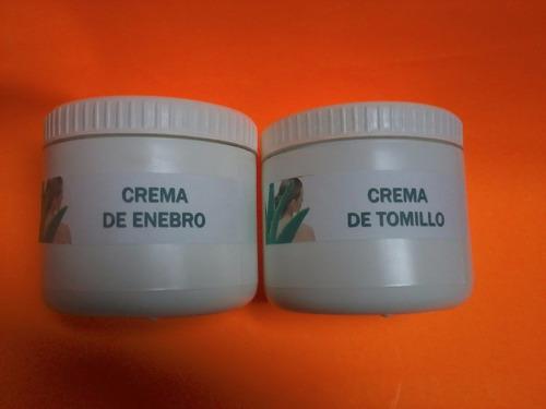 Crema De Tomillo + Crema De Enebro
