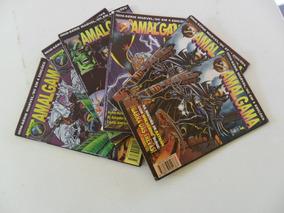 Amálgama Nºs 1 A 4! Ed. Abril 1997! Marvel-dc!