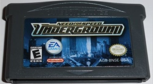 Need For Speed Underground Gba Original + Garantia! Raro!