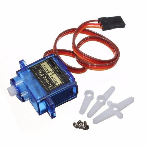 Servomotor Micro Sg90 + Servo Motor Arduino Raspberry