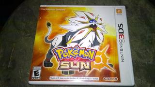 Caja Vacia - Pokemon Sun - 3ds