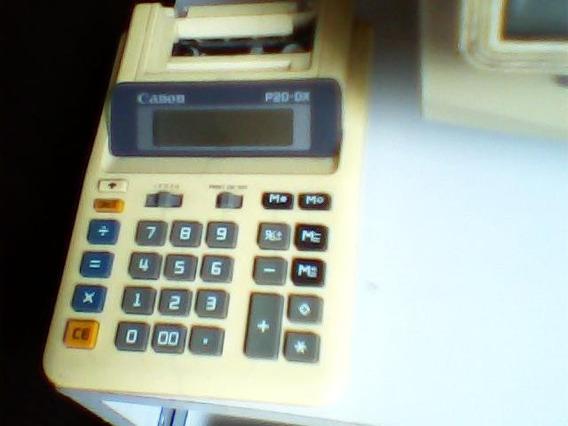 Calculadora Canon P20-dx