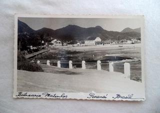 Cartão Postal Paranaguá Balneário Matinhos Paraná