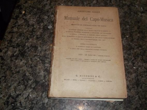 Livro Manuale Del Capo Mintore Galli Em Italiano