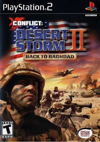Patch Conflito Desert Storm Back To Baghdad P/ Ps1 / Ps2