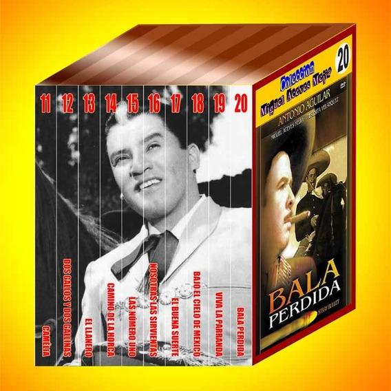 Nova Coleção Miguel Aceves Mejia - Lote 2 - 10 Dvds