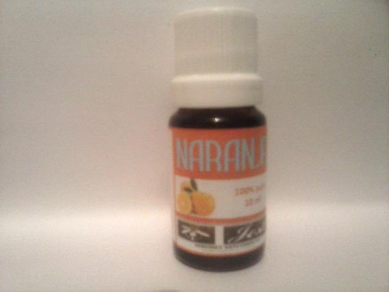 Aceite Esencial De Naranja 10 Ml.