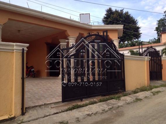Coalicion Vende Casa 250 Mts2 En Medina Jarabacoa-