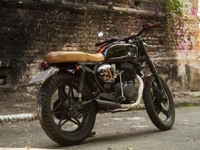 Honda Cb400 Customizada Café Racer, Scrambler ,não Harley