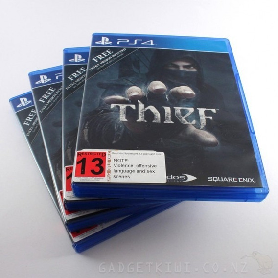 Thief Cd Playstation 4 Jogo Game Novo Caixa E Tudo Poa Ps4