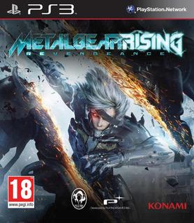 Metal Gear Rising Revengeance Ps3 Digital Gcp