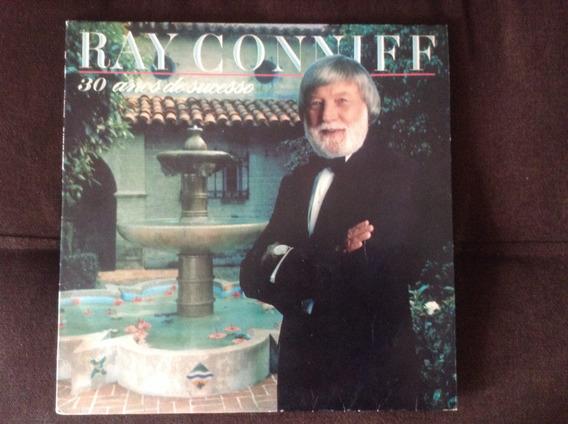 Disco Vinil Ray Conniff - 30 Anos De Sucesso - Bom Estado