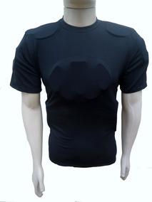 Kit Camisa De Proteção Gg + Calça Fut. Americ.pta Prof Gg