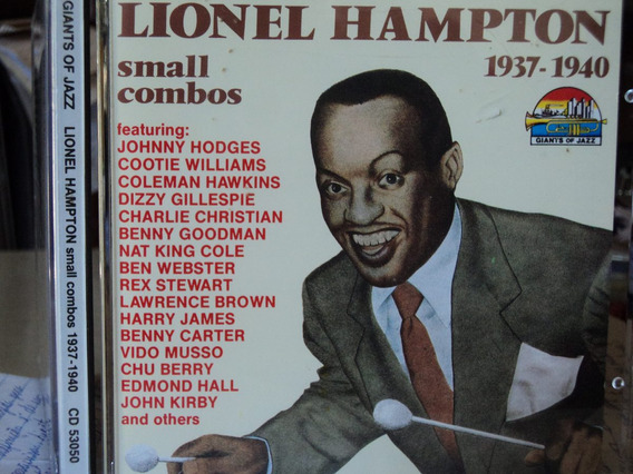 Cd-lionel Hampton:1937-1940-small Combos,giants Of Jazz,imp.