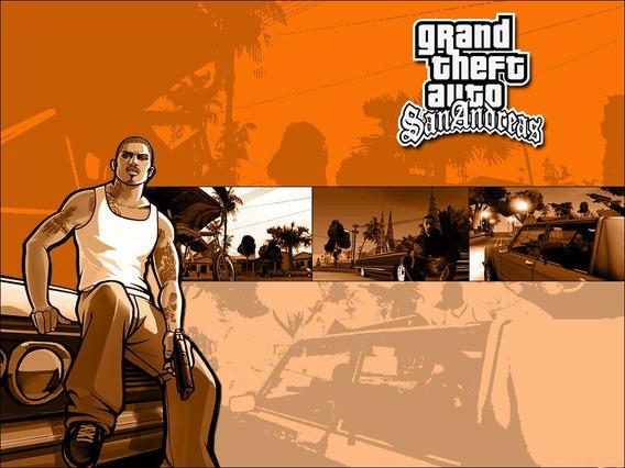 Gta San Andreas Versão Remasterizada Ps3 Psn Receba Hoje