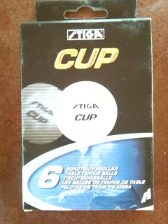 Pelotas Stiga Cup (caja De 6 Unidades)