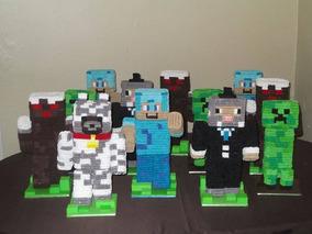 Centro De Mesa Minecraft