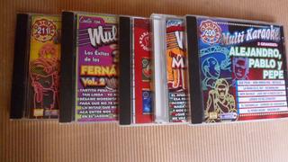 Karaoke Pistas Rancheras 5 Cds.