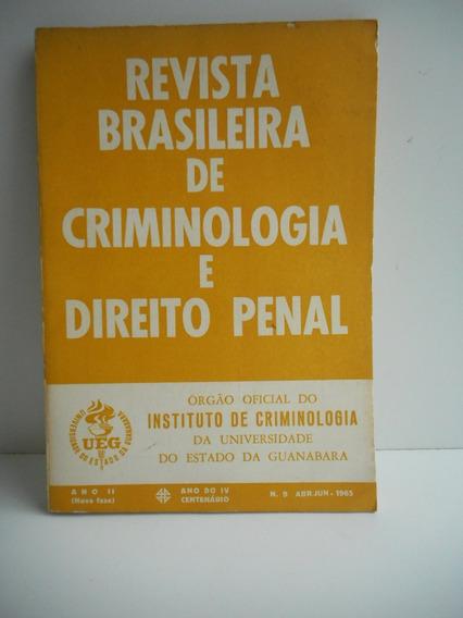 Livro Revista Brasileira De Criminologia E Direito Penal 9