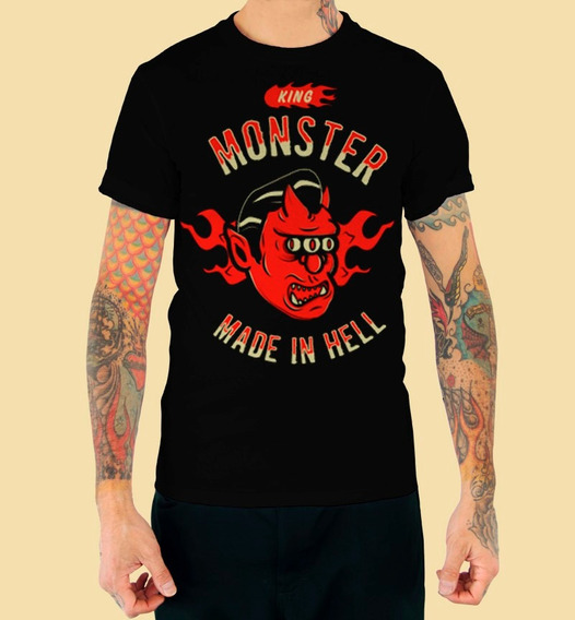 Playera King Monster Dc Comics Mod: Diablo En Vandalos