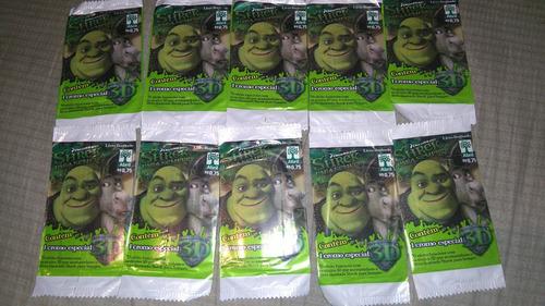 Lote De 10 Envelopes Figurinhas Lacrados Shrek Para Sempre